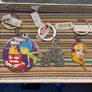 Disney keychains bundle